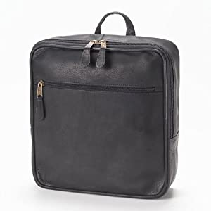 Clava Square Leather Backpack