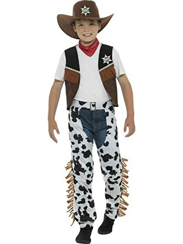 Cowboy Child Costume Boy's Size Medium (Cowboy Costum)