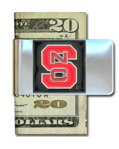North Carolina St. Wolfpack Steel Money Clip - Nc State Wolfpack Money Clip