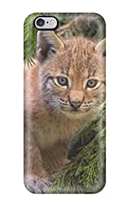 Sanp On Case Cover Protector For Iphone 6 Plus (lynx Pictures )