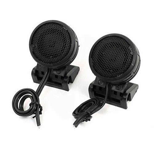 300 Watt Dome Tweeters - Auto Car Audio System Loud Speaker Dome Tweeters 300W 100dB 2.8V 2 Pcs by Uptell