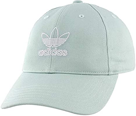 adidas Womens Originals Relaxed Outline Sombrero, Ash Green/White ...