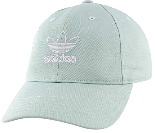 Adidas Originals Women's Relaxed Outline Cap Ash Green/White ONE SIZE