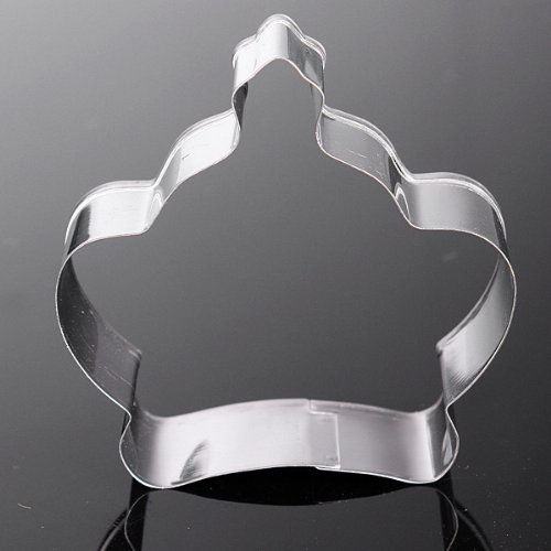 Princesa de Acero Inoxidable Corona Cookie Cutter Cake ...