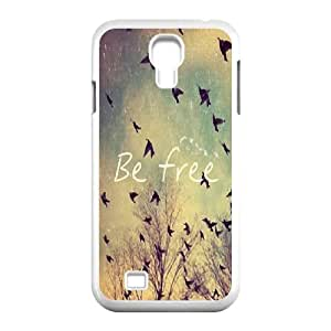 Be Free Classic Personalized Phone Case for SamSung Galaxy S4 I9500,custom cover case ygtg580042 WANGJING JINDA