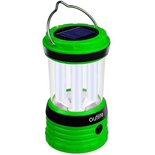 Outlite 240 Lumen Solar Rechargeable LED Camping Lantern Fl