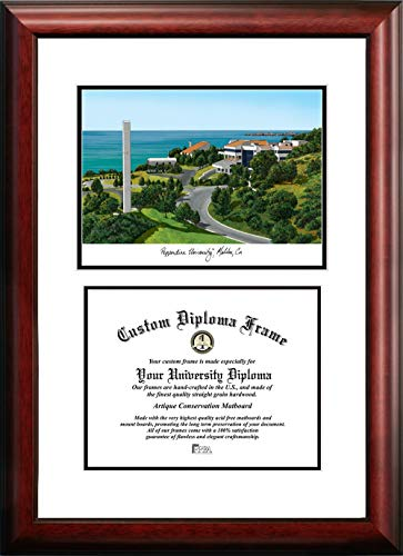 (Campus Images Pepperdine University Scholar Diploma Frame)