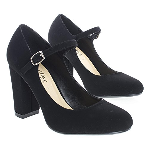 Toe Strap Kaili Closed Heel City Women's Ankle Classified Black Block wC4qISUxvn