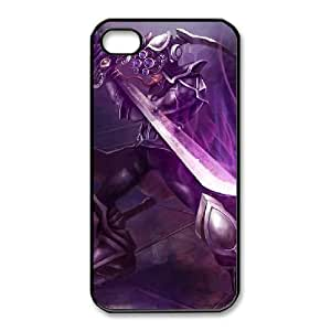 iPhone 4 4s Cell Phone Case Black League of legends MasterYi Custom KHJSFNUJF8215