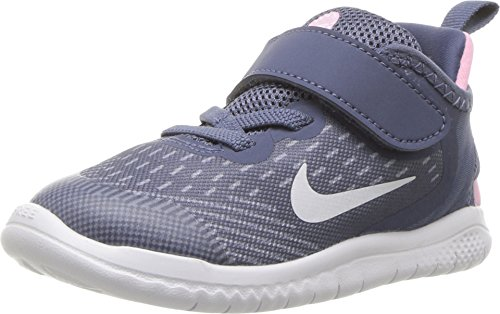 Nike Free Rn 2018 Toddlers Style: AH3456-402 Size: 9, Diffused Blue/White (Girls Nike Sneakers)