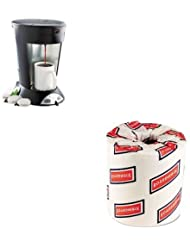 KITBUNMCPBWK6180 Value Kit Bunn Coffee My Cafe Pour Over Commercial Grade Coffee Tea Pod Brewer BUNMCP And White 2 Ply Toilet Tissue 4 5quot X 3quot Sheet Size BWK6180