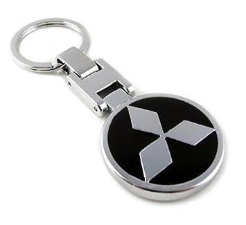 GUMP calidad Mitsubishi Logo sidras llavero cromado Metal ...