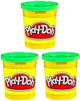 Hasbro Green - (3 Pack) Bright Green (23843) Hasbro Play-Doh 5 oz. (15 oz. total)