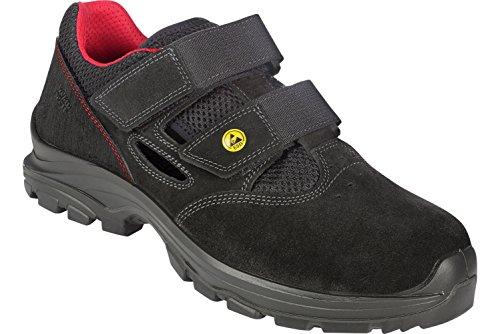 Sicherheitssandalen S1P ESD SRC Joy flexitec Schwarz - - Schuhe En ISO 20345 S1P für Innenbereiche Geeignet - Arbeitsschuhe mit Durchtrittschutz - Gr. 37