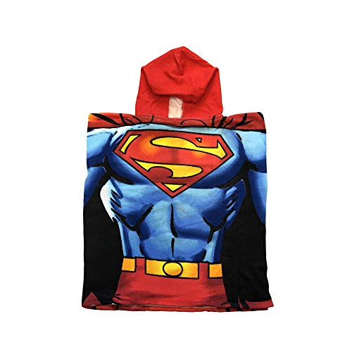 n Chest Hooded Terry Cloth Poncho Towel ()