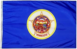product image for All Star Flags 5x8' Minnesota Nylon State Flag - All Weather, Durable, Outdoor Nylon Flag