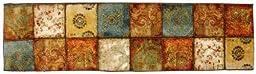 Mohawk Home Free Flow Artifact Panel Printed Rug,  2\'x8\',  Multi