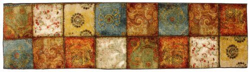 Mohawk Home Free Flow Free Flow Artifact Panel Printed Rug, 2'x8', Multi ()