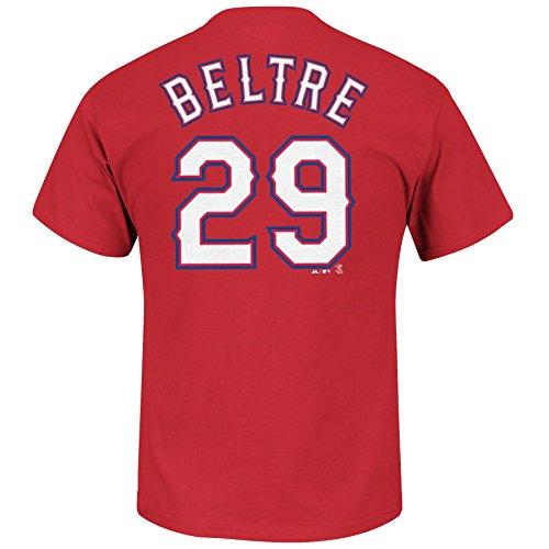 Adrian Beltre Texas Rangers #29 MLB Men's Player Name & Number T-shirt (XXlarge)