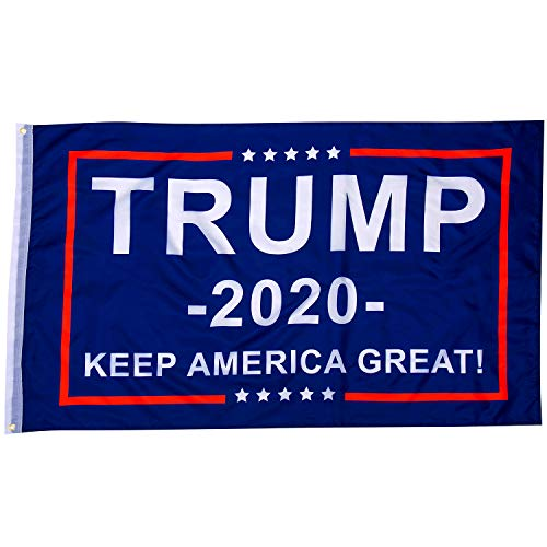 Trump 2020 Flag 3x5 Ft for President Keep America Great Garden Outdoor Flag (Best College Dorm Rooms In America)
