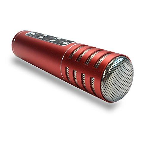 2016 micrófono nuevo mini jugador del Karaoke del micrófono de condensador con micrófono KTV del canto de registro para los teléfonos inteligentes del coche del ordenador - Telefono Ltd