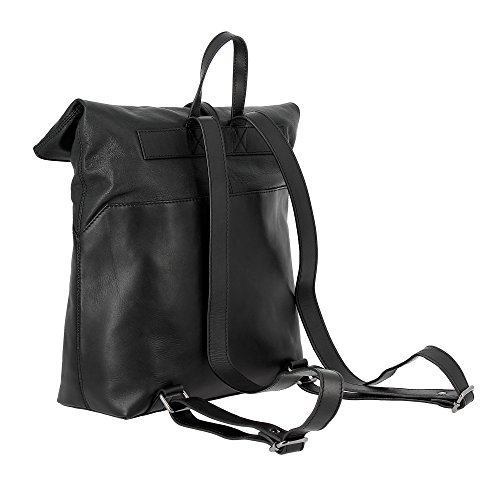 Nero Cerniera Con Pelle Elegante Bag Dudu Grande Moda Capacità Zip Morbida Donna Genuino 7TW0v