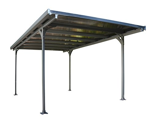 Palram Verona 5000 Carport and Patio Cover, 16' x 10' x 7'