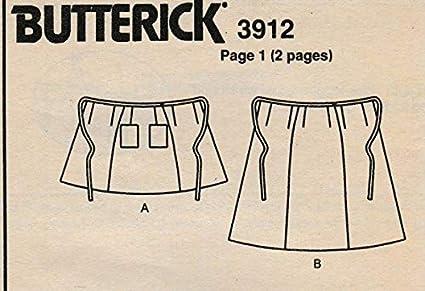 Butterick 3912 (6-8-10): Amazon.es: Juguetes y juegos