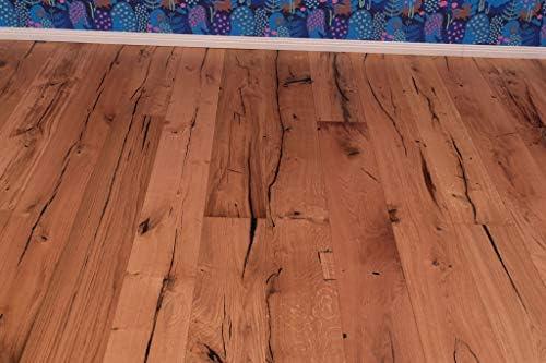 Landhausdiele 1-Stab natur-ge/ölt mit Fase Parkett Eiche Rustikal Geb/ürstet 190 Elephant Skin Oak