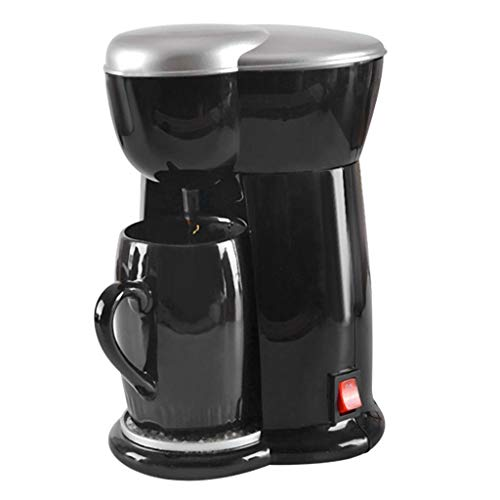 OutTop(TM) Coffee Maker, Single Cups Automatic Programmable Coffeemaker, Home Mini Drip Coffee Makers Electric Automatic Espresso Machine (Black)