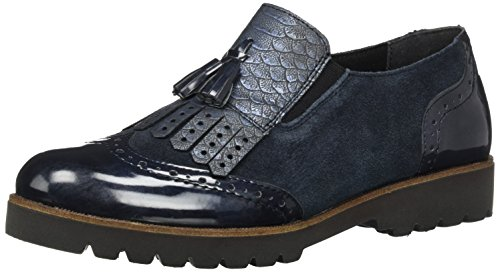 Remonte D0114, Mocasines para Mujer Azul (Navy/pilot/royal / 15)