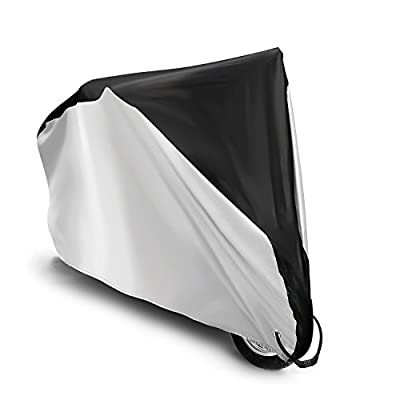 Bike Cover, Vemico Motorcycle Bicycle Waterproof Outdoor Rain Snow Dust Resitant Scooter Protector for Mountain Bike Electric Bike Cruiser Bike Folding Bike Motorbikes and Scooters