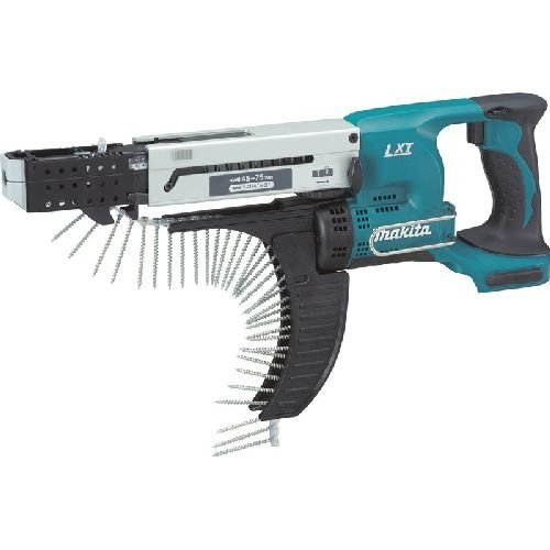 Cordless Collated Screwdriver (Makita XRF01Z 18V LXT Auto Feed Screwdriver)