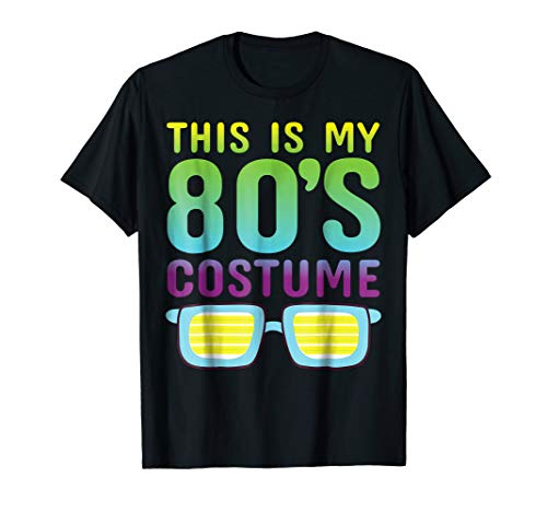 80s Costume culture womens T Shirt Neon Retro Clothes
