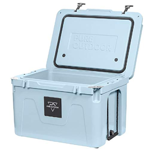 Monoprice Emperor Cooler - 50 Liters - Blue | Securely Sealed, Ideal for The Hottest and Coldest Conditions - Pure Outdoor Collection