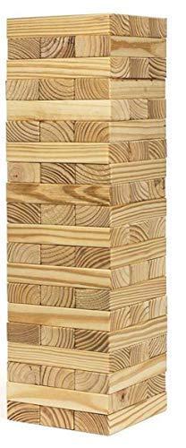 Buy Pytho Jenga Giant Big Size Natural Pine Wood Blocks For Real