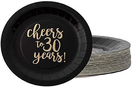 Amazon.com: Platos desechables – Platos de papel de 48 ...