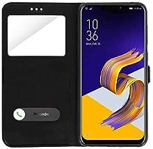 iPOMCASE Carcasa Doble Ventana para ASUS Zenfone 5 ZE620KL