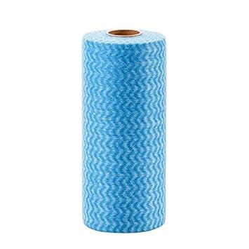 Toallitas limpiadoras reutilizables de tela de tela no tejida, limpias y ecológicas, prácticas para