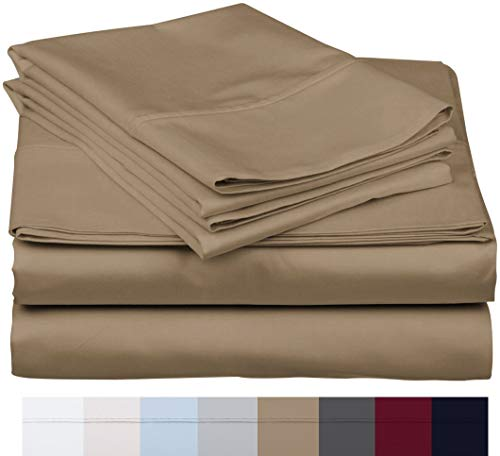 800 Thread Count 100% Long Staple Soft Egyptian Cotton SheetSet, 4 Piece Set, KING SHEETS,upto 17