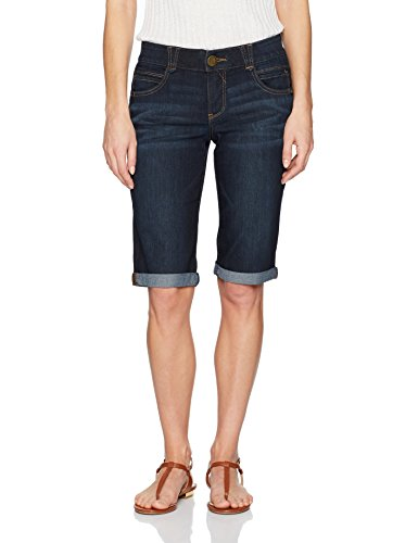 - Democracy Women's Ab Solution Bermuda Short, Indigo 12