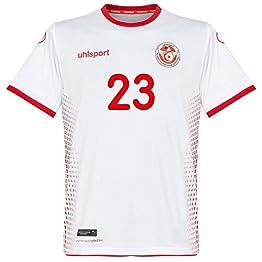 uhlsport Tunisie Home Khazri 10Jersey 2018/2019(Fan Style d'impression)