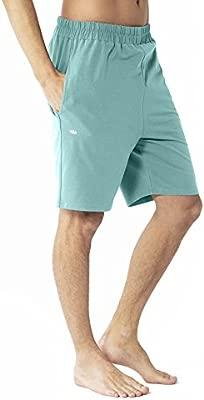 Lotuscrafts Pantalón Corto de Yoga para Hombre, algodón ...