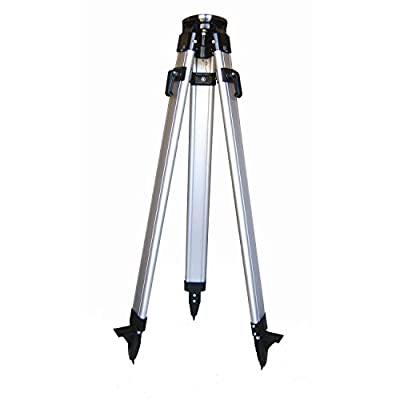 Pacific Laser Systems PLS 5/8-11 Tripod with Adjustable Height to 58-Inch