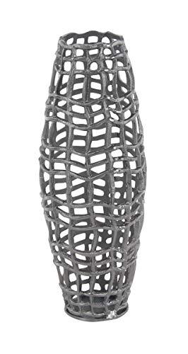 Deco 79 Contemporary Metal Net-Style Floor Vase, 7