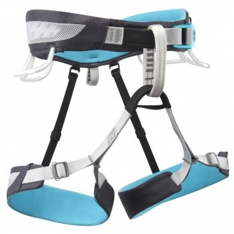 Primrose SA Climbing Harness – Womens – XS N/A – INK / PEACOCK, Outdoor Stuffs