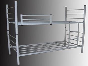 Etagenbett Metall : Revelis doppelstockbett stockbett etagenbett aus metall