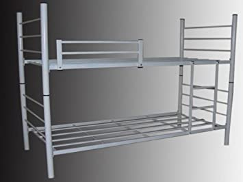 Etagenbett Metall Günstig : Revelis doppelstockbett stockbett etagenbett aus metall