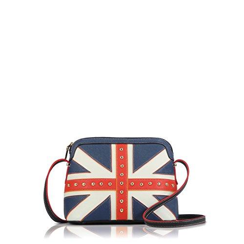 DARLING'S UK Flag Small Saffiano Cross-body Purse - UNITED KINGDOM / BRITISH UNION JACK (8 Foot British Flag compare prices)