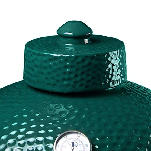 Ceramic Chimney Cap fit for Big Green Egg,FIRECOW Ceramic Grill Damper Top Accessories for Large/XL Green Egg BGE Replacement Parts